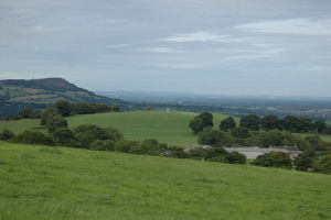 Bosley Cloud and Cheshire plain