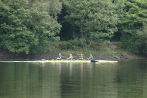 Canoeing on Rudyard Lake