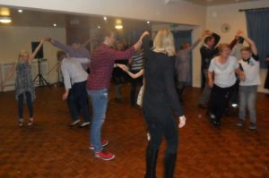 dancing at the centre